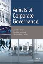 Annals of Corporate Governance