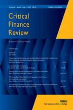 Critical Finance Review